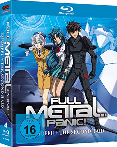 Full Metal Panic! The Second Raid + Full Metal Panic? Fumoffu [Blu-ray Box] [Import allemand] de AV Visionen GmbH