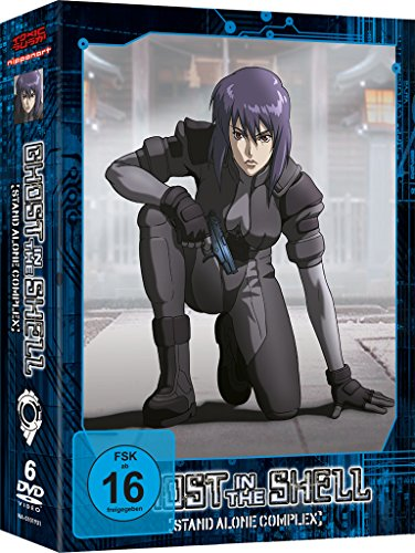 Ghost in the Shell - Stand Alone Complex - Staffel 1 [6 DVDs] [Import allemand] de AV Visionen GmbH