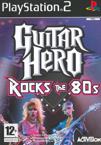 Guitar hero rocks the 80s de ACTIVISION