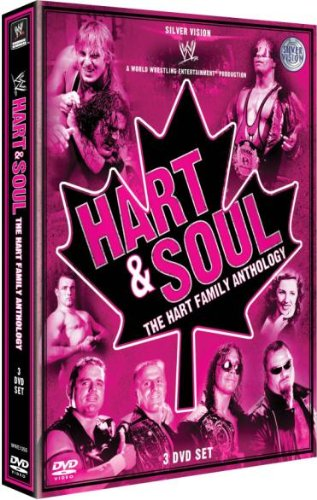 Coffret wwe : hart and soul ; the hart family de clear vision