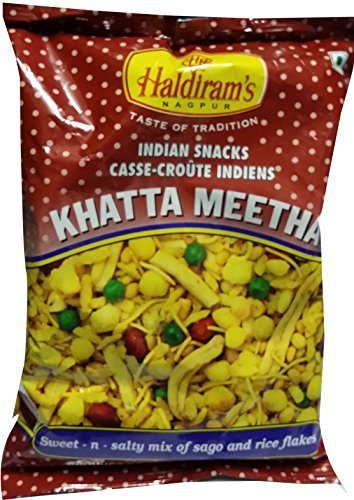 Haldiram Khatta Meetha Sweet and Spicy Snack Mix, 7 Ounce by Haldiram de HALDIRAM