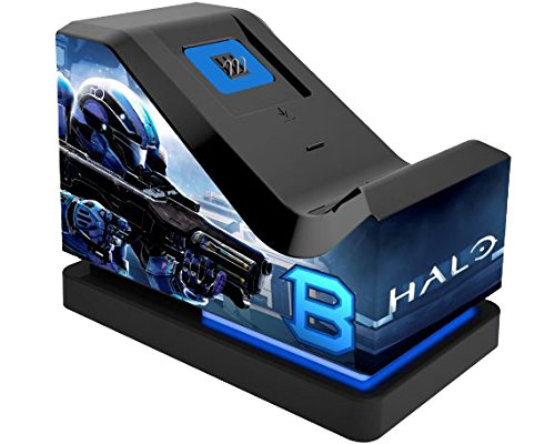 Halo 5 Guardians : Official Charging Stand (Includes Rechargeable Battery Pack) [import anglais] de PowerA
