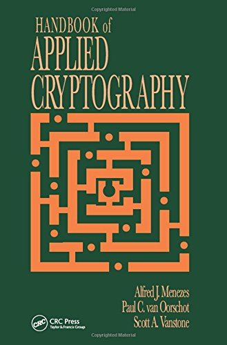 Handbook of Applied Cryptography de Brand: CRC PRESS INC