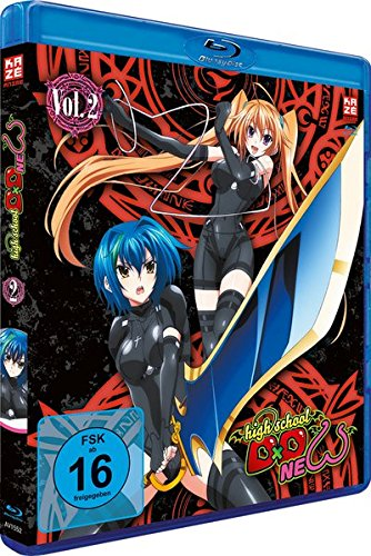 Highschool DXD New (2.Staffel) - Vol. 2 [Blu-ray] [Import allemand] de AV Visionen GmbH