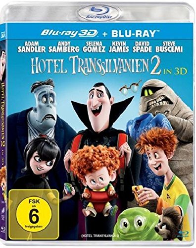 Hotel Transsilvanien 2-3d Version (2 Disc) [Blu-ray] [Import anglais] de Sony Pictures Home Entertainment Gmbh