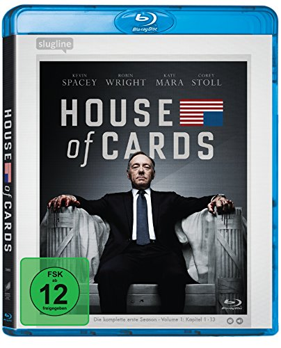 House of Cards-die Komplette Erste Season-4 di [Blu-ray] [Import anglais] de Sony Pictures Home Entertainment Gmbh