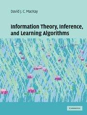 Information Theory, Inference and Learning Algorithms de Cambridge University Press