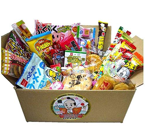 Japanese candy assortment 30pcs , full of dagashi. TONOSAMA CANDY by TONOSAMA CANDY BOX de dagashi