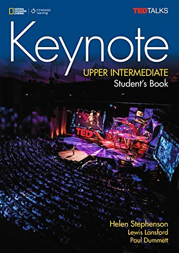 Keynote, Upper Intermediate Level + Dvd-rom de CENGAGE Learning Custom Publishing