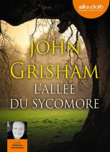 L'Allée du sycomore: Livre audio - 2 CD MP3 de Audiolib