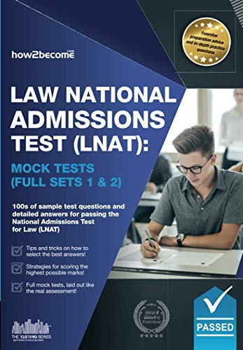 Law National Admissions Test (LNAT): Mock Tests Full Sets 1 & 2 de How2become Ltd