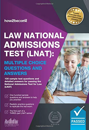 Law National Admissions Test (LNAT): Multiple Choice Questions and Answers de How2Become Ltd