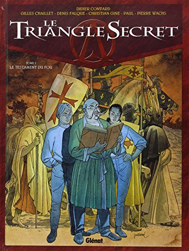 Le Triangle Secret, tome 1 : Le Testament du Fou de SA PARADISE BD-STRIPS