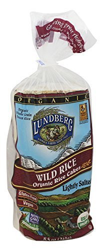 Lundberg Wild Rice Organic Rice Cakes Lightly Salted by Lundberg Family Farm [Beauty] (English Manual)