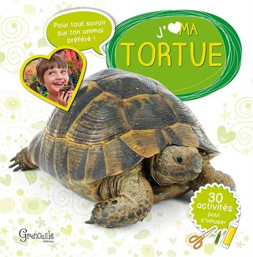 MA TORTUE de Grenouille Editions