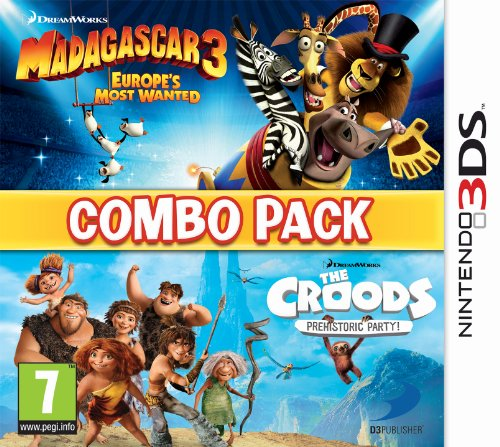 Madagascar 3 -The Croods Double Pack [import anglais] de Namco Bandai Games