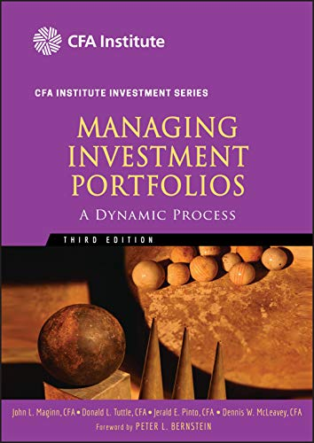 Managing Investment Portfolios: A Dynamic Process de John Wiley & Sons