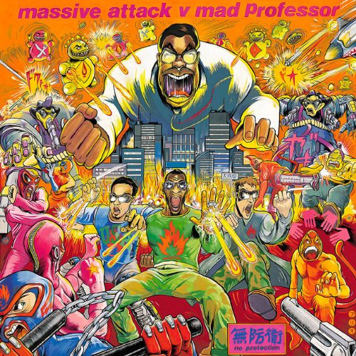 Massive attack V mad Professor. No Protection de Circa Records