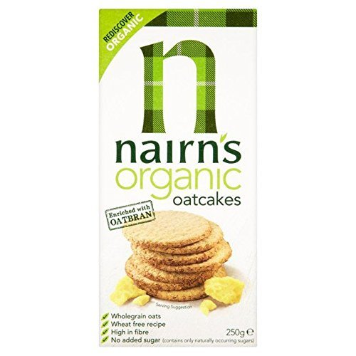 Nairn's Organic Oat Cakes 250g - Pack of 2 by Nairn's de Nairn's