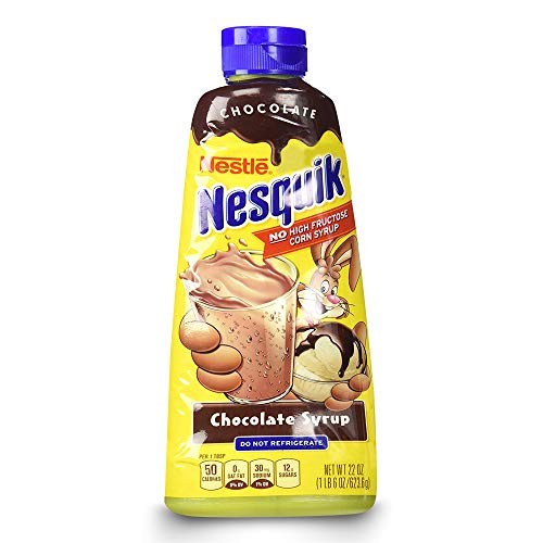 Nestle Nesquik Chocolate Syrup 22 oz by Nestle Nesquik de NESQUIK