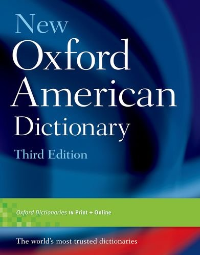 New Oxford American Dictionary, Third Edition de OUP USA