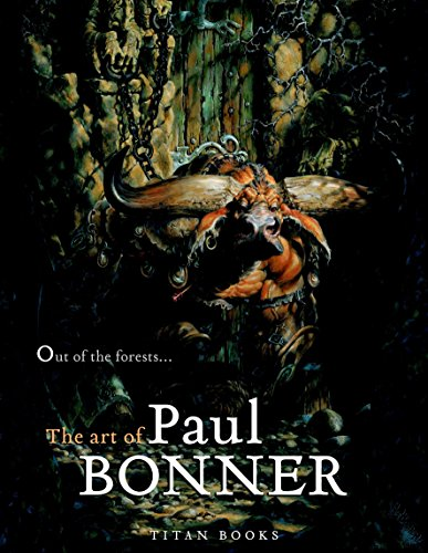 Out of the Forests: The Art of Paul Bonner de Titan Books