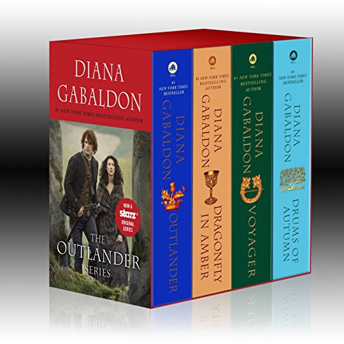 Outlander 4-Copy Boxed Set: Outlander, Dragonfly in Amber, Voyager, Drums of Autumn. de Dell
