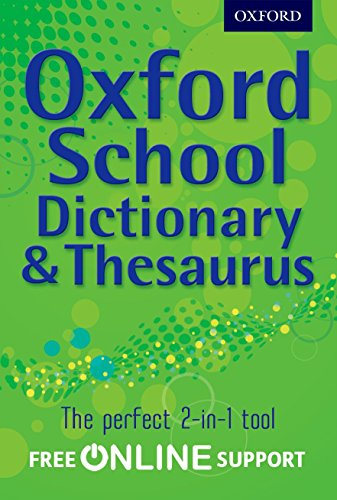 Oxford Combined Dictionary/Thesaurus 2012 de Franklin Watts