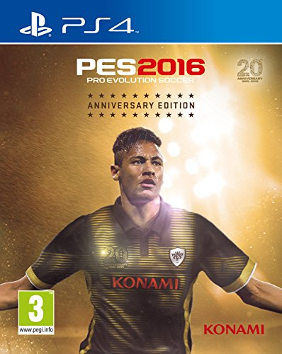 PES 2016 20TH ANNIVERSARY EDITION PS4 de Konami