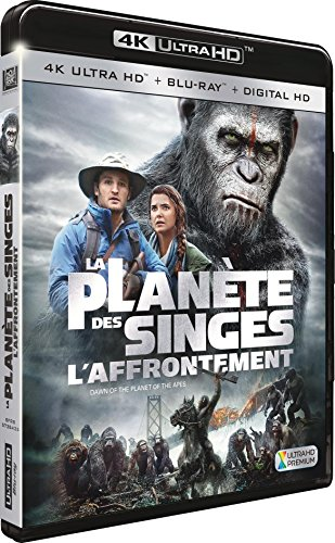 La Planète des Singes : L'Affrontement [4K Ultra HD + Blu-ray + Digital HD] de 20th Century Fox