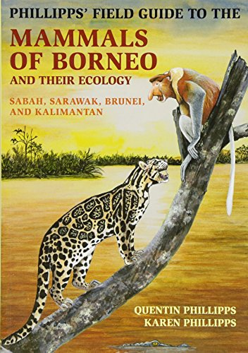 Phillipps' Field Guide to the Mammals of Borneo: Sabah, Sarawak, Brunei, and Kalimantan de Princeton University Press