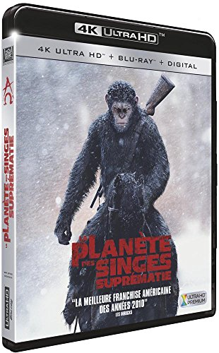 La Planète des Singes : Suprématie [4K Ultra HD + Blu-ray + Digital HD] de 20th Century Fox