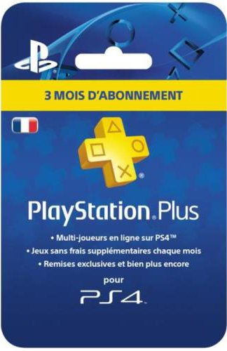 PlayStation Plus Card - Abonnement 3 Mois de Sony