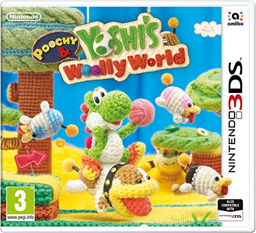 Poochy and Yoshi's Woolly World pour Nintendo 3DS de Nintendo