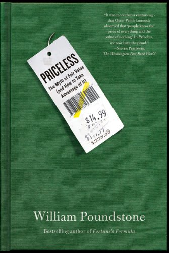 Priceless: The Myth of Fair Value (And How to Take Advantage of It) de Brand: Hill and Wang