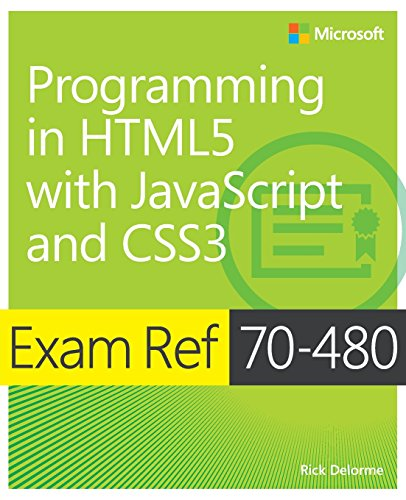Exam Ref 70-480  Programming in HTML5  with JavaScript and CSS3 de Microsoft Press