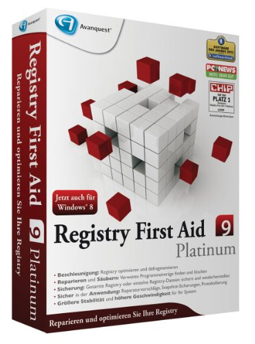 Registry First Aid 9 Platinum [import allemand] de Avanquest Software