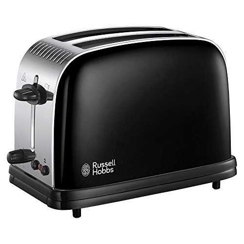 Russell Hobbs couleurs plus 2 tranches Grille-pain - Noir de Russell Hobbs