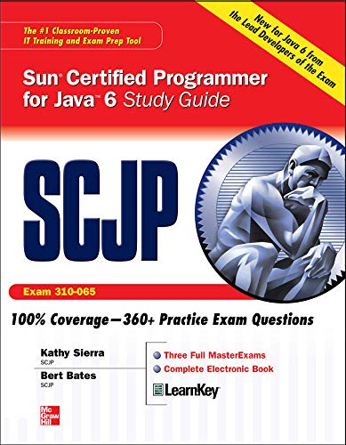 SCJP Sun Certified Programmer for Java 6 Study Guide: Exam 310-065 de Brand: McGrawHill Osborne Media