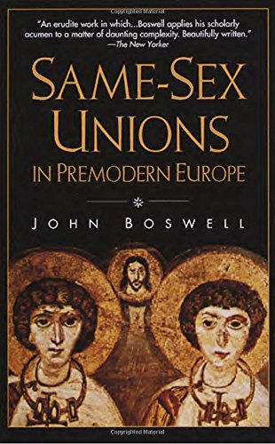 Same-Sex Unions in Premodern Europe de Brand: Vintage