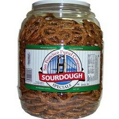 San Francisco Sourdough Pretzels 1.47kg Jar de San Francisco