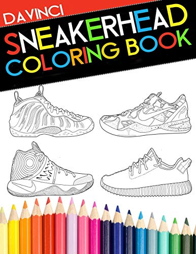 Sneakerhead Coloring book de Da vinci Publishing