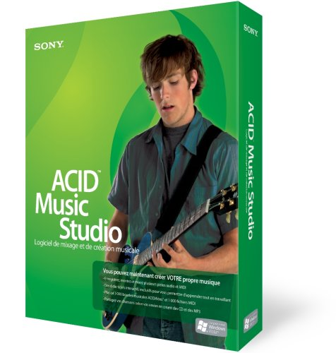 Sony Acid Music Studio 7 de Sony Média Software