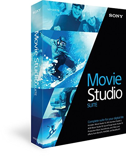 Sony Movie Studio Suite 13 de Sony