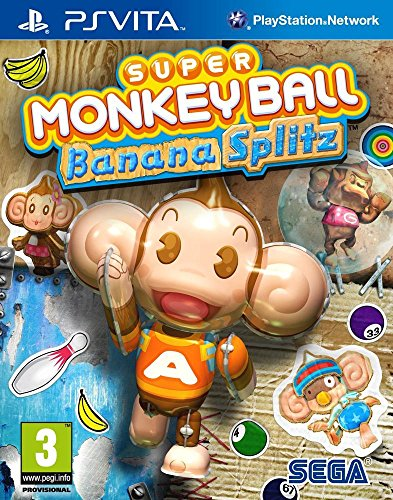 Super Monkey Ball : Banana Splitz (PS Vita) de Séga