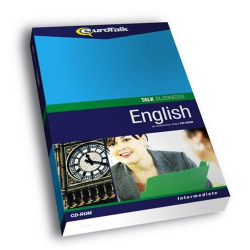 Talk Business English : Interactive Video CD-ROM - Intermediate [import anglais] de EuroTalk Limited