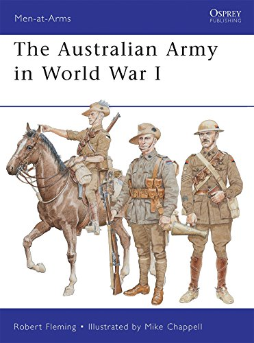 The Australian Army in World War I de Osprey Publishing