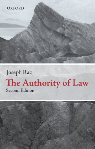 The Authority of Law: Essays on Law and Morality de Oxford University Press, USA