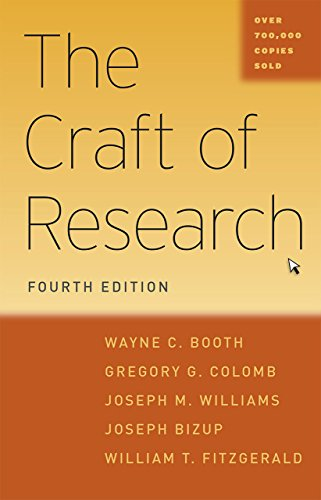 The Craft of Research, Fourth Edition de University of Chicago Press