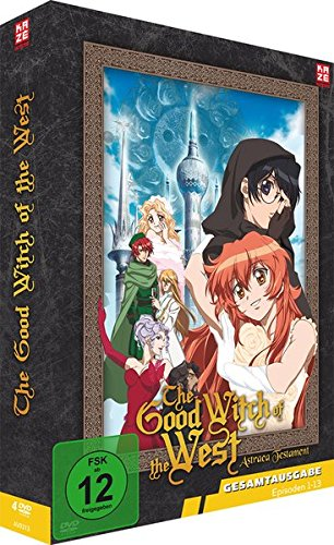 The Good Witch of the West - Astraea Testament - Gesamtausgabe [4 DVDs] [Import allemand] de AV Visionen GmbH